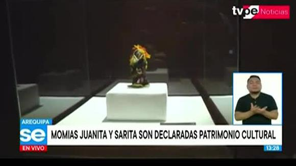 Declaran Patrimonio Cultural de la Nación a las Momias Juanita y Sarita 27/11/2020