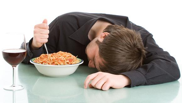 después de la comida