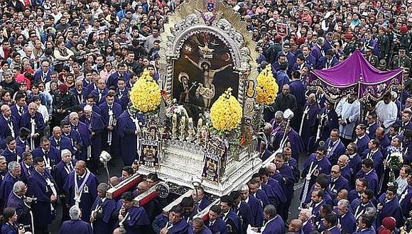 A diferencia de otros años, el 2020 las andas del Señor de Los Milagros no podrán recorrer las calles de Lima. (GEC)
