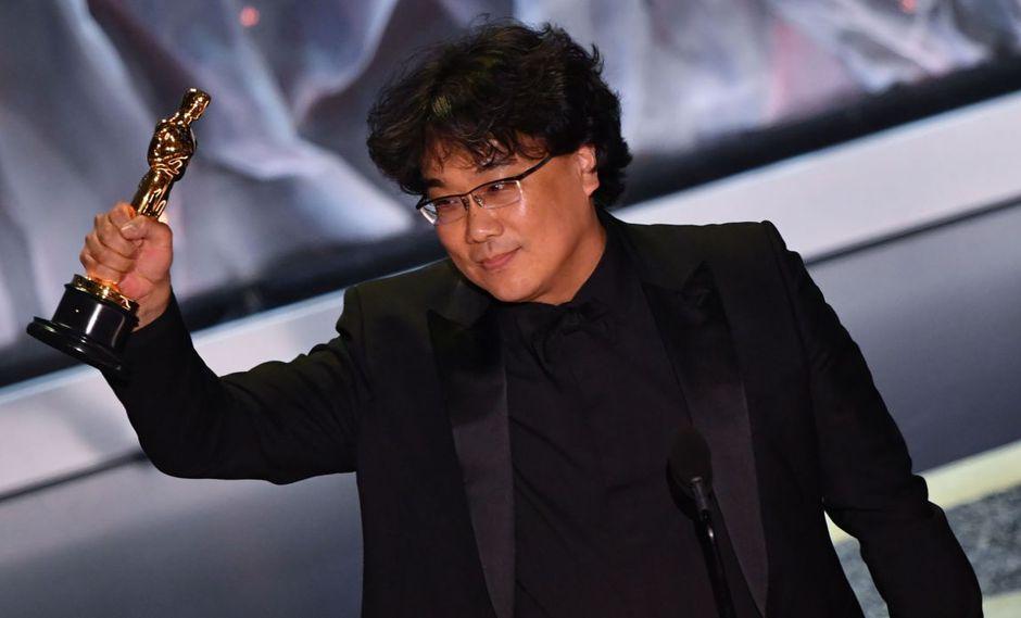 """Bong Joon-ho fue elegido como Mejor director por """"Parasite"""" en los Oscar 2020. (Foto: AFP)"""
