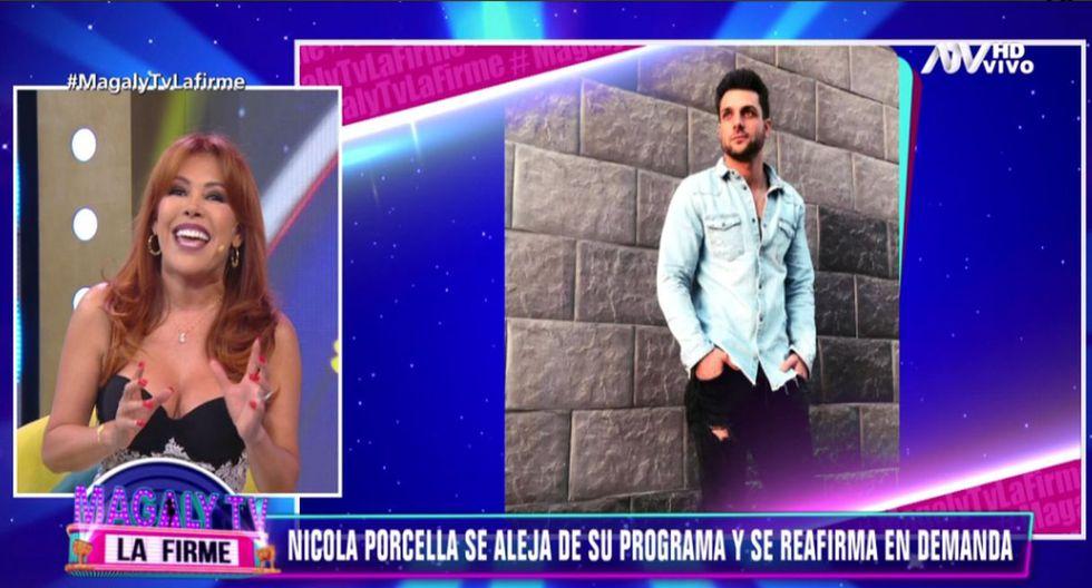 Magaly Medina anunció contrademanda a Nicola Porcella por difamación tras el caso de Poly Ávila. (Fotos: Magaly Tv. La firme)