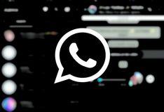 WhatsApp se pone elegante con sus nuevas funciones: Modo oscuro, permiso para grupos y el navegador interno   FOTOS