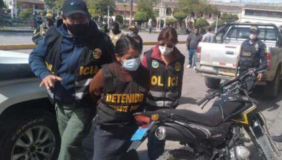 Ayacucho: capturan a mujer requisitoriada por terrorismo y presunta miembro de Sendero Luminoso