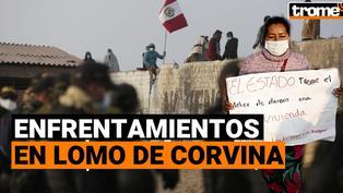 Invasores se niegan a abandonar terrenos en 'Lomo de Corvina' y se enfrentan a policías