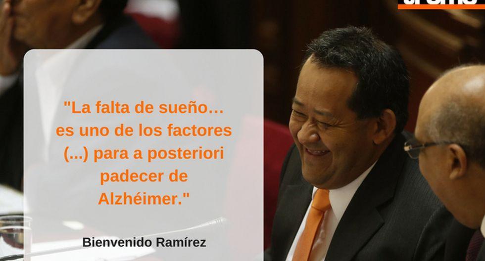 La frases más polémicas de Bienvenido Ramírez.