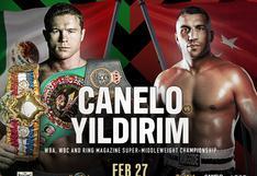 Canelo Álvarez defenderá sus títulos ante el turco Yildirim