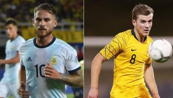 Argentina vs Australia en Juegos Olímpicos Tokio 2021