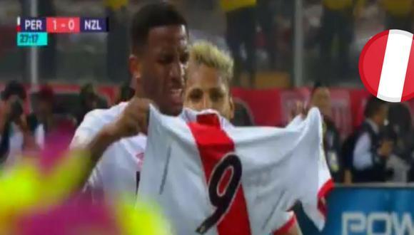 Jefferson Farfán dedica gol a Paolo Guerrero