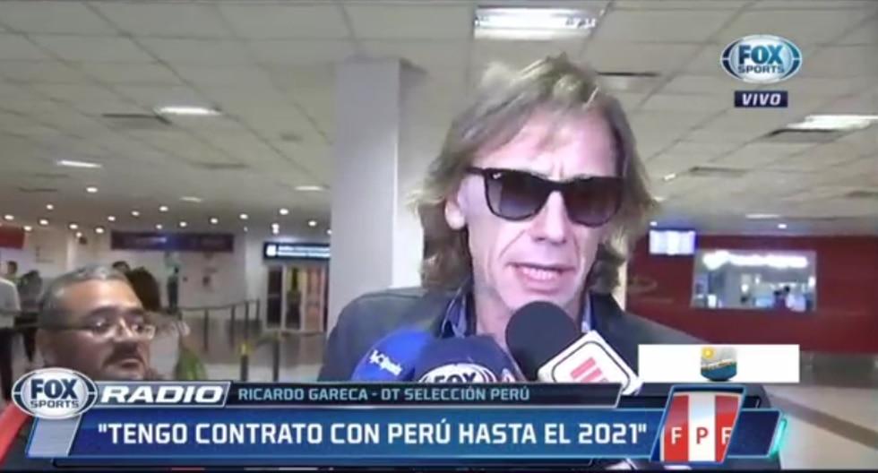 Ricardio Gareca viajó a Buenos Aires y aclaró situación con Boca Juniors