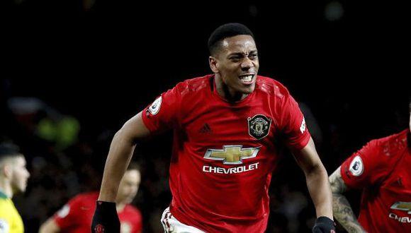 Golazo de Martial: Un misil de cabeza en el Manchester United vs. Norwich por la Premier League