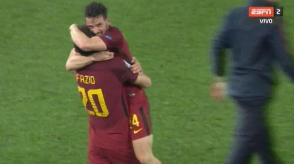 Barcelona vs Roma. resumen