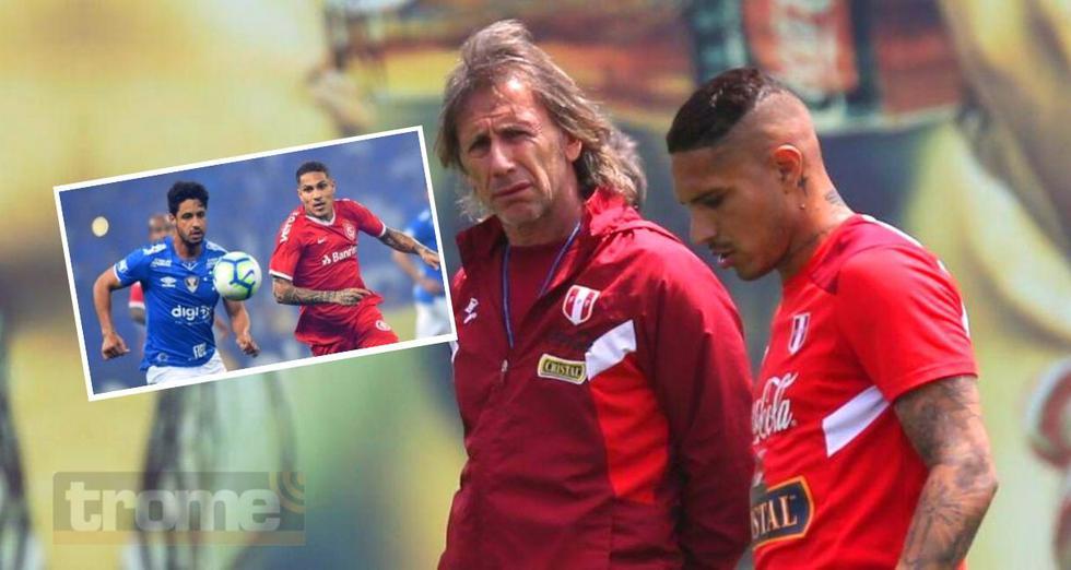 Inter de Porto Alegre apela a que última carta la juegue Paolo Guerrero