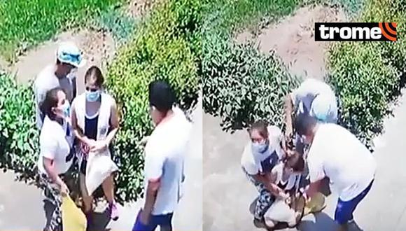 Jesús María: Sujetos le roban camiseta de Alianza Lima a joven y la dejan semidesnuda en la calle