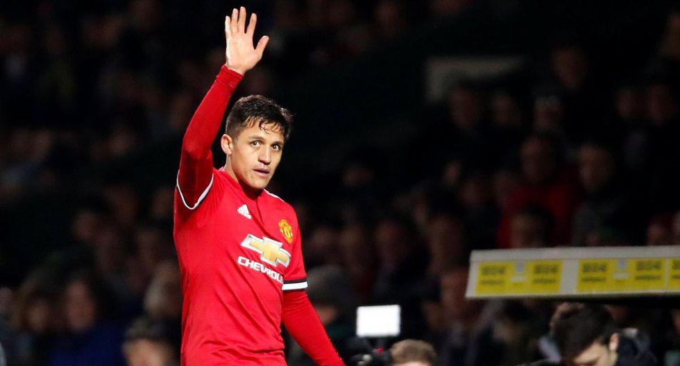 Alexis Sánchez debutó en Manchester United: Participación y asistencia en dos goles [FOTOS]