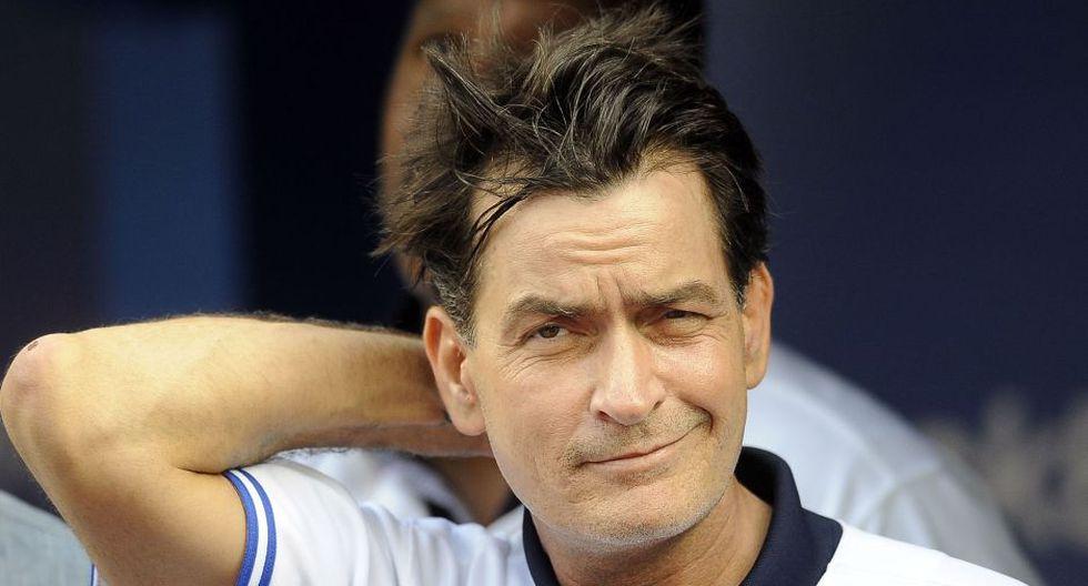 El actor de 51 años Charlie Sheen.