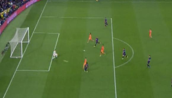 Gol 5 de Barcelona