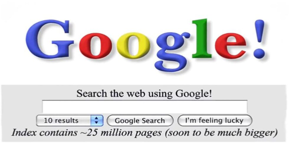Google celebra sus 20 años con este colorido doodle que incluye las búsquedas más populares