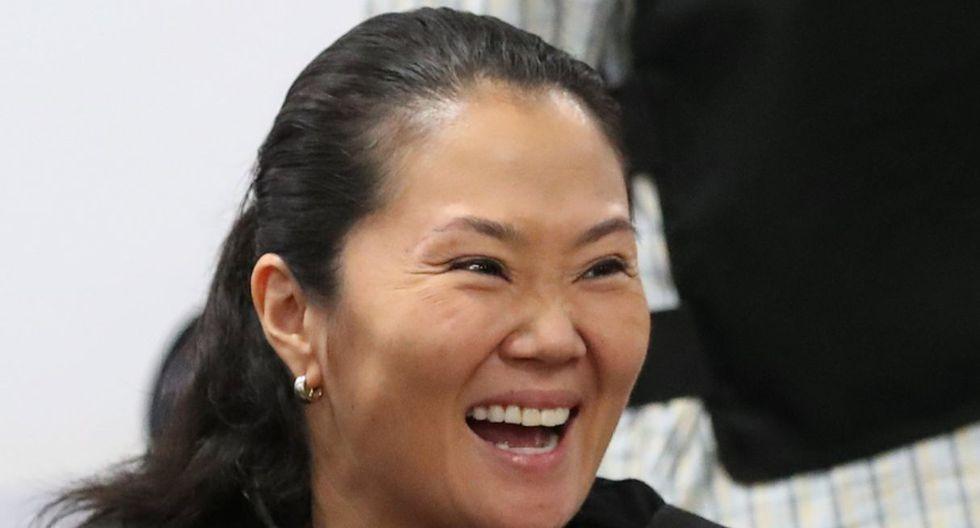 Keiko Fujimori fue puesta en libertad por la Segunda Sala Penal de Apelaciones Nacional, que le revocó la detención preliminar. (Fotos: Agencias)