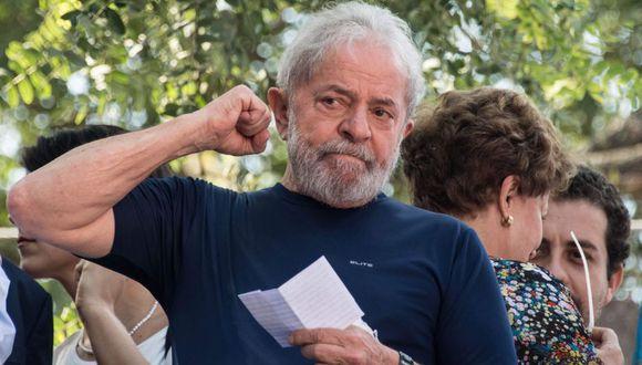 Lula se encontraba entre rejas desde el 7 de abril de 2018. (Foto: AFP)