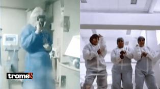 Piura: Enfermera grabó TikTok a ritmo de reggaetón junto a cadáveres y pacientes Covid-19
