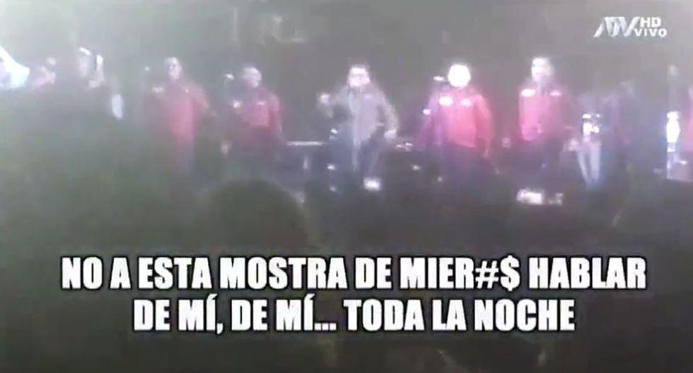 Magaly Medina recibe insultos de Tony Rosado