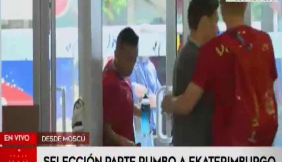 Perú vs Francia: Bicolor partió a Ekaterimburgo para trascendental partido ante los 'galos' | VIDEO