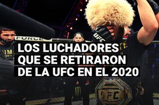 Los grandes luchadores que se retiraron de la UFC en el 2020
