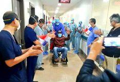 Coronavirus: 'Mano de Piedra' Durán ganó pelea a COVID-19 y salió entre aplausos | VIDEO