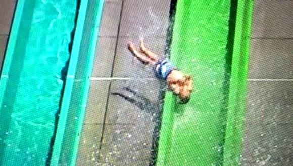 Pequeño de 10 años sufre peligroso incidente en parque acuático de California.