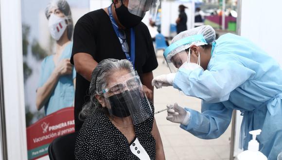 La vacunación se realiza en 11 puntos de Lima y Callao. (Fotos : Jesús Saucedo / @photo.gec)