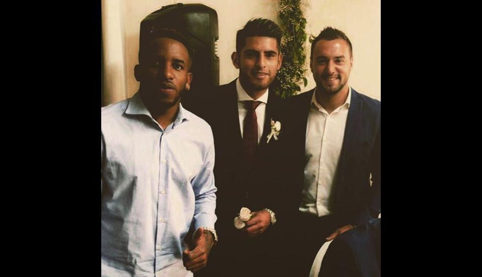 Carlos Zambrano se casó