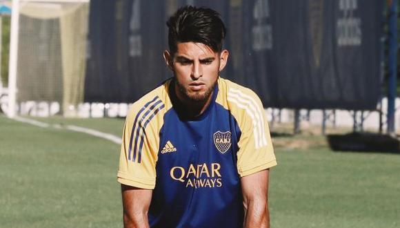 Carlos Zambrano sufrió una lesión y quedó descartado en Boca Juniors para enfrentar a Patronato. (Foto: Boca Juniors)