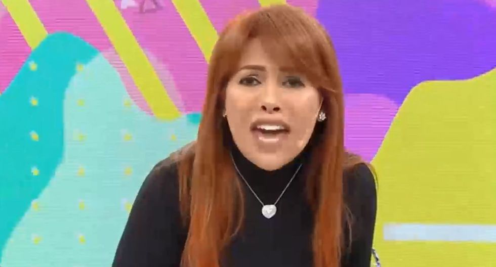 Magaly Medina respondió a Nicola Porcella. (Capturas: Magaly Tv. La firme)