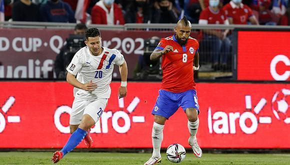 Chile venció 2-0 a Paraguay y se mete a la pelea por un cupo a Qatar 2022