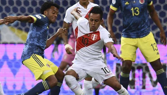 Perú vs Colombia: postales del primer tiempo en Copa América 2021
