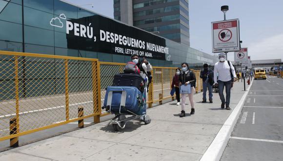 Aeropuerto Jorge Chávez. (Foto: Leandro Britto / GEC)