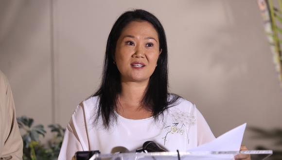 Keiko Fujimori salió en libertad luego que el Poder Judicial dictó comparecencia con restricciones en lugar de prisión preventiva el 30 de abril. (Foto: GEC)