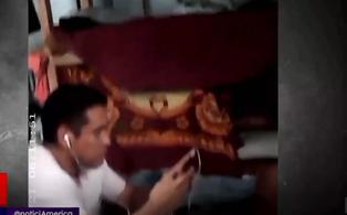 Internos del penal Castro Castro disfrutan de internet sin ningún control