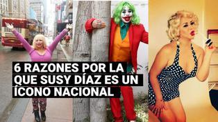 Estos son las 6 razones por la que Susy Díaz deberia ser considerada un tesoro nacional