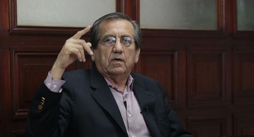 """Del Castillo indicó que """"jamás"""" ha hablado """"personal o telefónicamente"""" con Jorge Barata. (Foto: GEC)"""