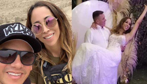 Olinda Castañeda respondió a los que criticaron su boda. (Instagram)