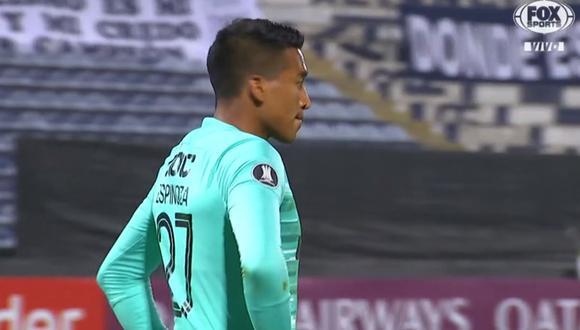 Error de Ítalo Espinoza provocó la remontada de Estudiantes de Mérida por Copa Libertadores
