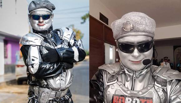 Va camino al millón de seguidores y quiere convertirse en 'rey del TikTok'. (Foto: Facebook 'Robotín')