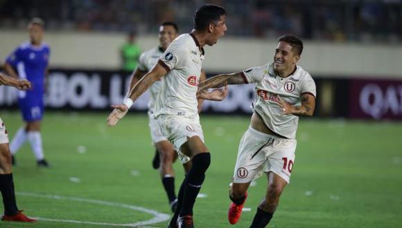 Universitario vs Carabobo por Copa Libertadores. (Foto: Jesús Saucedo)