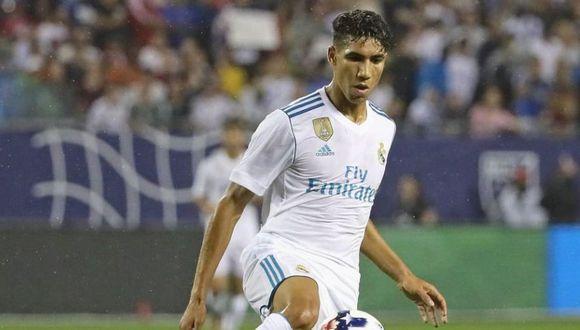 Hakimi fue cedido por dos temporadas al Borussia Dortmund. (Foto: AFP).