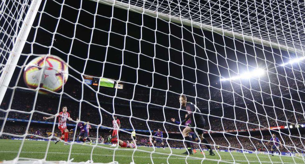 Barcelona vs Atlético Madrid por la Liga Santander