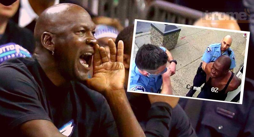 Michael  Jordan explotó y se sumó protestas por asesinato racial de Georges Floyd