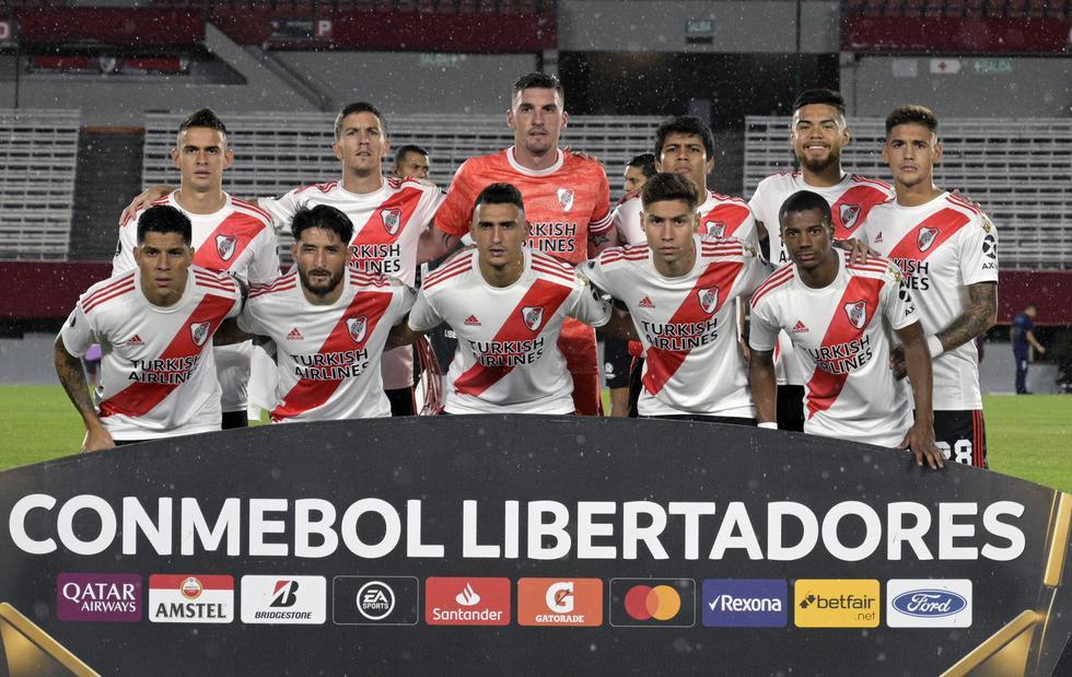 El plantel de River Plate, que dirige Marcelo Gallardo, tiene un valor de 149, 649 millones de dólares. (Foto: AFP)