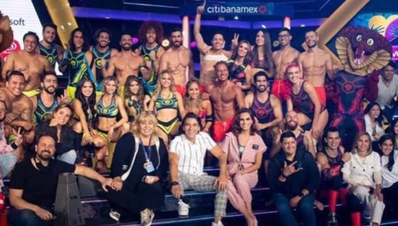"""La espera terminó y """"Guerreros 2021"""" ya está aquí. Estos son los integrantes del equipo Cobras y Leones. (Foto: Televisa)"""