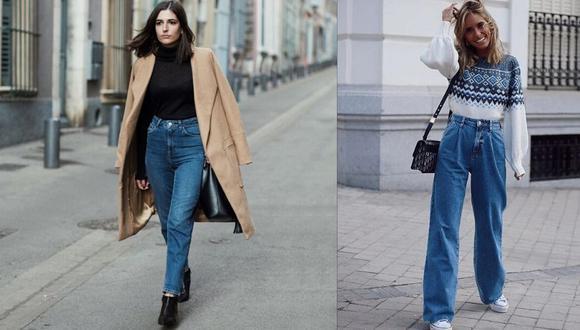 Estos jeans fueron muy usados en los noventa, y hoy regresan con fuerza.  (Fotos: Difusión MAD)